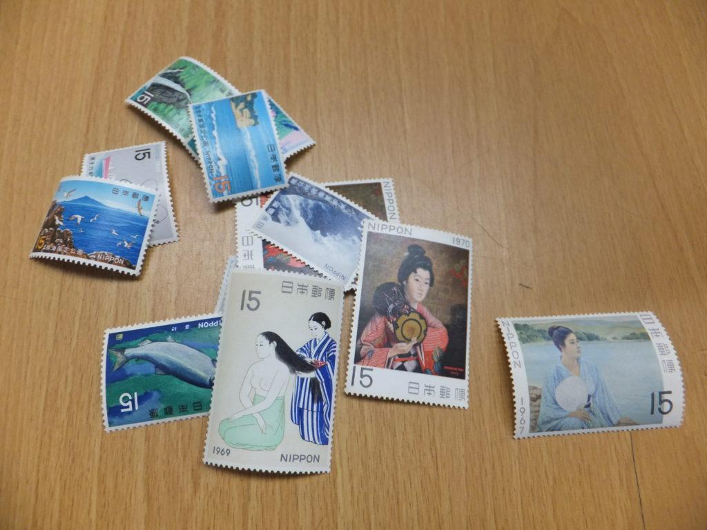 交換手数料のバラ切手 15円切手 20枚