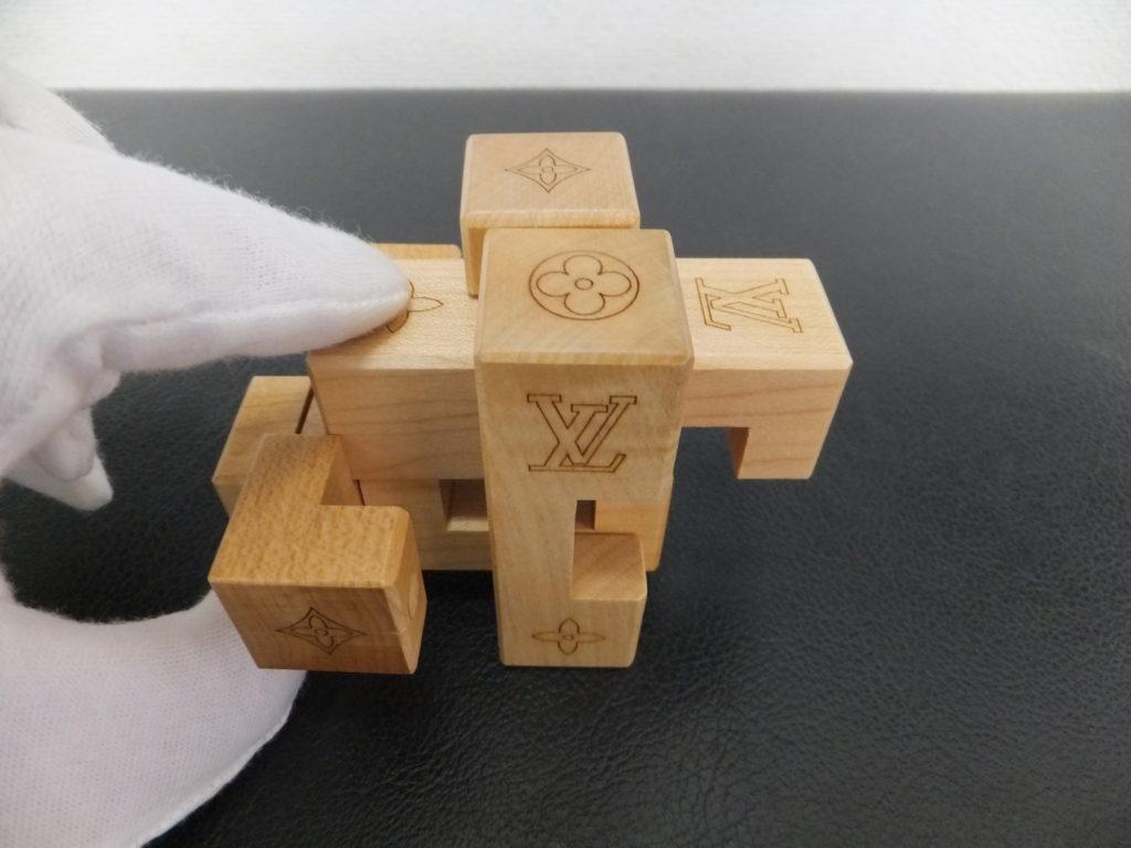 ③Louis Vuitton(ルイヴィトン) ノベルティ品 積み木パズル パテキ