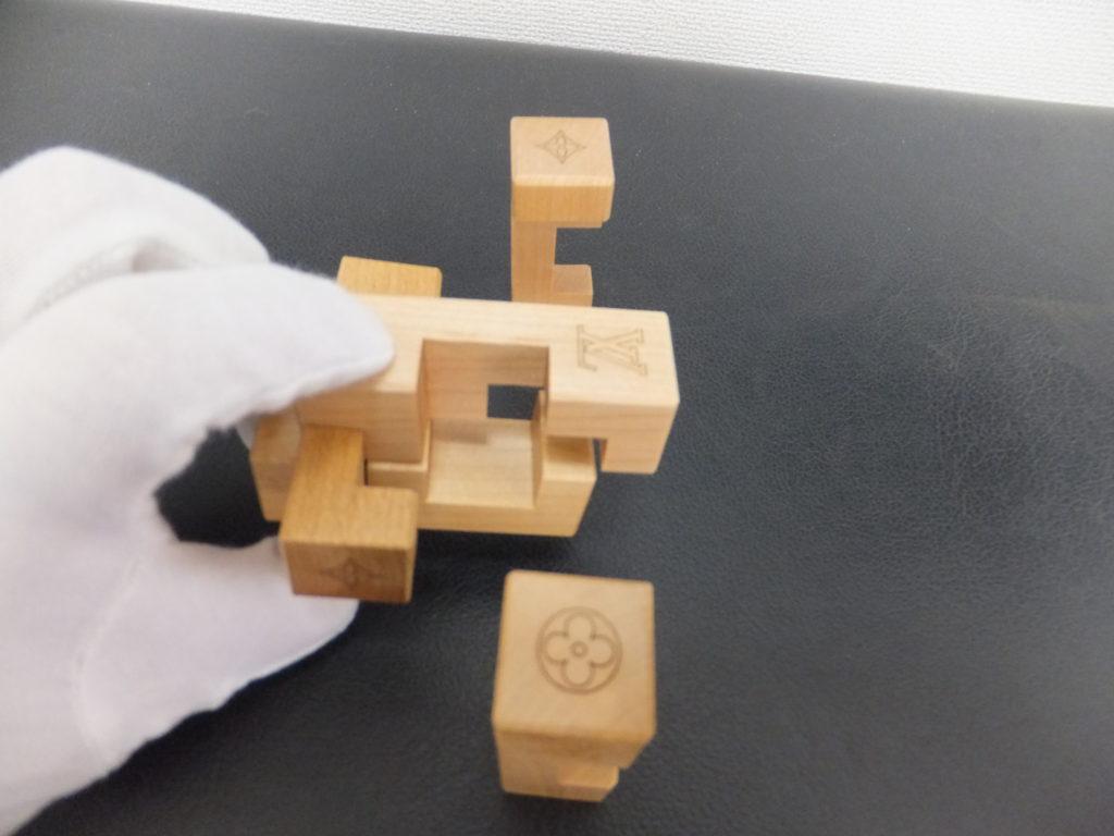 ④Louis Vuitton(ルイヴィトン) ノベルティ品 積み木パズル パテキ
