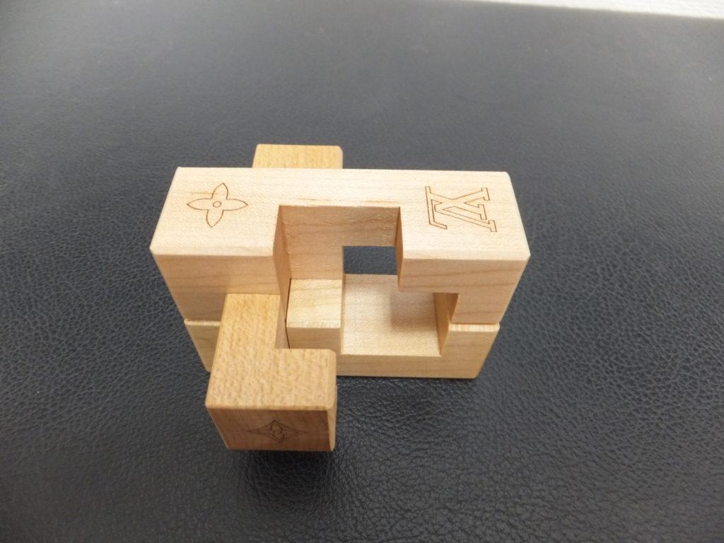 ⑤Louis Vuitton(ルイヴィトン) ノベルティ品 積み木パズル パテキ