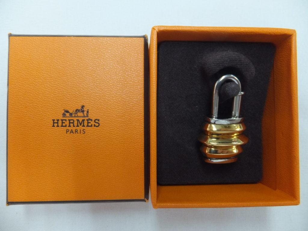 エルメス カデナ 1991年「遠い国でのエルメス」 Extreme Hermes ランタン シルバー ゴールド