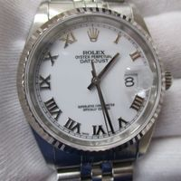 ROLEX(ロレックス)メンズ腕時計デイトジャスト ローマン Ref.16234 高価買取